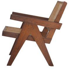 """Pierre Jeanneret Teak """"Easy Chair"""" 1"""