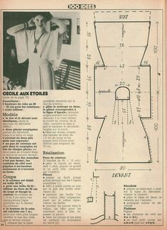 "DIY vintage, couture, tricot, patron 70's,art and craft: Couture Facile "" Des robes vite cousues"""