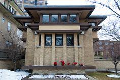 Frank Lloyd Wright. Emil Bach House. Rogers Park, Chicago IL. 1915