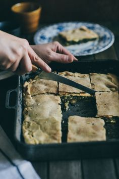"""""""Hortopita""""-Wild Greens Pie (Souvlaki For The Soul) (try it with nettles and bryndza"""