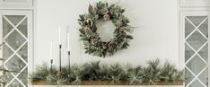 """Keep up to date on the latest news & stories from the host of HGTV's hit remodeling show """"Fixer Upper"""" & owner of the Magnolia Market, Joanna Gaines! Magnolia Blog, Magnolia Joanna Gaines, Magnolia Market, White Farmhouse Exterior, Rustic Farmhouse Decor, Magnolia Wallpaper, Christmas Home, Christmas Crafts, Merry And Bright"""