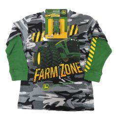 John Deere Black Camo FARM ZONE with Thermal Sleeves