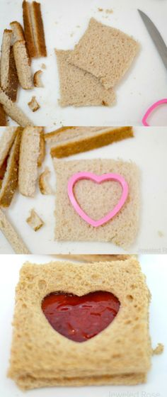 Lovewiches- a simple way to make meal time special for kids. These always make my little ones smile