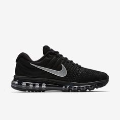 bb61dad6032b Nike Air Max 2017 Black Anthracite White Running Shoes(36-46) On Sale