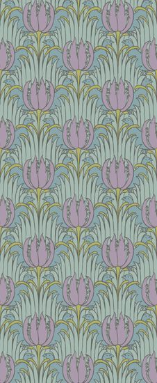 Bird & Tulip by: Trustworth Studios, a British design studio, has some of the most beautiful original wallpaper designs.