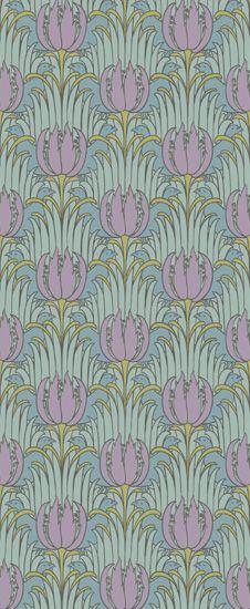 Bird & Tulip by: Trustworth Studios, a British design studio, has some of the most beautiful original wallpaper designs.