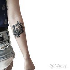 New School Horseshoe tattoo by Johnny Murtaugh at Central Tattoo Studio in Philadelphia, PA