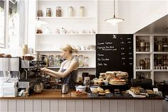 KT _ just the sweetest, simplest British coffee shop: Ginger & white Coffee Shop.