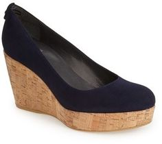 Stuart Weitzman 'York' Wedge Pump, thanks to Cindy on the WKW Facebook page for the tip on these!