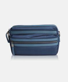 Bergamo Blue - a men's clutch by Giorgio Agnelli Man Clutch, Leather Bag, Luxury, Blue