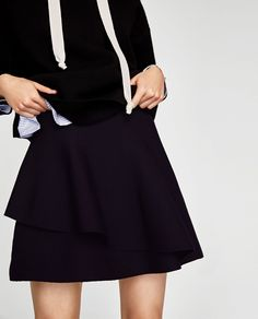 ZARA - WOMAN - DOUBLE-LAYER SKIRT