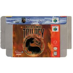 Mortal Kombat Trilogy N64 - Empty N64 Box