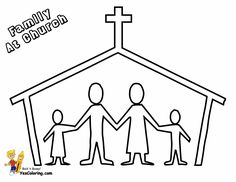 free preschool sunday school coloring pages church | Bible Coloring ...