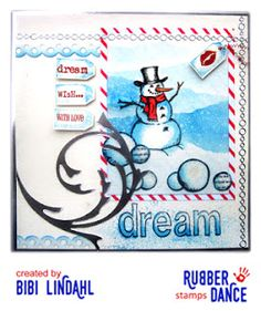 * Rubber Dance Blog *: Rubber Dance Stamp Challenge - January
