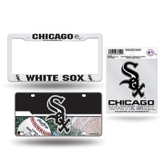 Chicago White Sox MLB 3 Piece Auto Value Pack