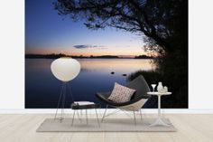 Blue Lake – high-quality wall murals with free UK delivery Photo Wallpaper, Wall Murals, Blue, Decor, Wallpaper Murals, Decoration, Murals, Wall Prints, Mural Painting