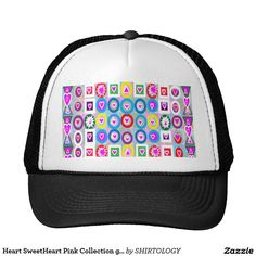 Heart SweetHeart Pink Collection gifts Trucker Hat