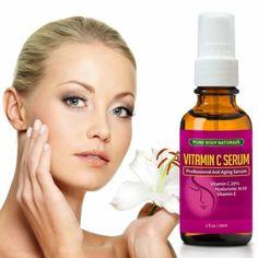 THE BEST ORGANIC Vitamin C Serum For Your Face ★ 100% Botanical Vitamin C+E+ Hyaluronic Acid Serum ★ Anti Aging Serum Moisturize...