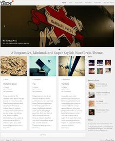 minimal and responsive premium portfolio WordPress theme from Theme Trust