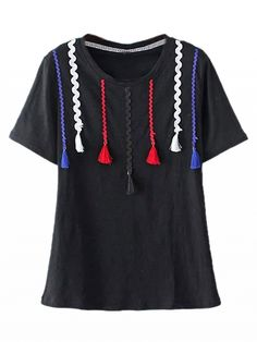 Soft-touch jersey Round neckline Regular fit - true to size Machine wash Stretchable Material 73% Cotton 22%Polyester 5%Spandex