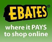 Get cash back at any of 1,500 stores any time you start your shopping trip at Ebates.com. There are no points to redeem, no forms to mail in, and no fees.  All we need is an email address so we can notify you when your cash back has been credited. **********  NOTE:  **********  I have been a member for over 10 years and am extremely happy with it! No spam and my rebate goes directly to my PayPal account.  **********