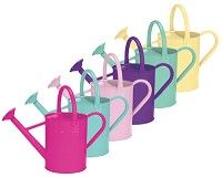 119518 World Source 8325 Watering Cans 1 Gallon World Source Partners World Source 8325 Watering Cans 1 Gallon GAL Assorted Watering Cans Metal With Powder Coated Finish Assorted Colors Include Pink Yellow Re…
