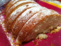 Scandinavian Almond Cake. This is the BEST dessert! I had to make it three times over the Christmas holiday because it was so popular. Tonight I tried it with lemon extract instead of almond and it was delicious, too!
