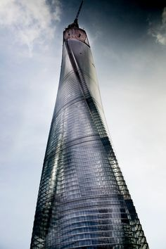 Shanghai Tower - nicky almasy photography