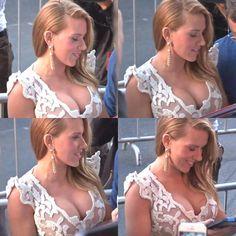 Busty Scarlett Johansson