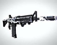 Big Nerf Guns, Modified Nerf Guns, Boy Room Paint, Nerf Mod, Sci Fi Weapons, Military Guns, Cool Guns, 1 Place, Airsoft Guns