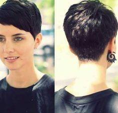 Kurze pixie Frisuren für feines dünnes Haar 2017
