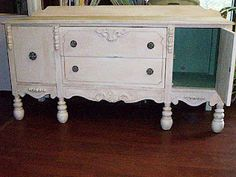 Painted and refinished buffet