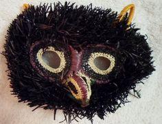 Wounaan Embera Chunga Mask Owl-Panama 16073018L