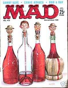 Ernie Kovacs, Mad Magazine, Magazine Covers, Magazine Rack, American Humor, American History, Mad Tv, Jack Davis, Ec Comics