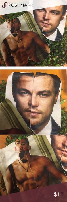 Urban celeb Channing and Leo sock bundle Bundle of two pairs of celebrity photo printed ankle socks! Leonardo DiCaprio and Channing Tatum! Brand new retail item, this listing is for one pair of Channing socks and one pair of Leo socks. Fits shoe size 4-10 per manufacturers specs. Turn some heads!! Accessories Hosiery & Socks