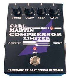 #Carl Martin #Compressor Limiter #Effects #Pedals