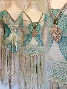Bunte Zigeuner Kleid Meerjungfrau Kleid Boho von RAWRAGSbyPK