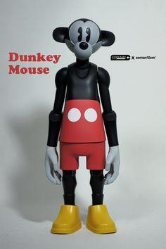 Dunkeys MovieManiac series by seman 10cm, via Behance
