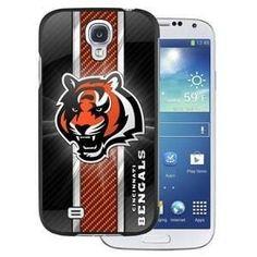NFL Licensed Protector Case for Samsung Galaxy S4 - Cincinnati Bengals