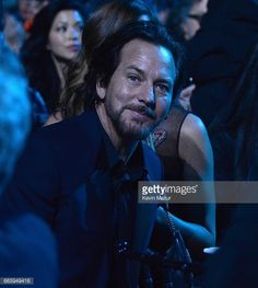 Eddie Vedder, Rock Hall induction, 4/7/17.  That face!