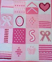 Ravelry: debbieredman's Pink bobbles