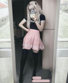 Weird pose but idc💭 Fashion 90s, Pastel Goth Fashion, Harajuku Fashion, Kawaii Fashion, Cute Fashion, Korean Fashion, Fashion Outfits, Pastel Goth Clothes, Pastel Goth Style