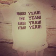 Dumb and Dumber inspired baby bodysuit/Mockingbird funny baby shirt/Baby and toddler outfit/Infant creeper/Baby body sock/Baby clothes by SmallTownGeek on Etsy https://www.etsy.com/listing/293041293/dumb-and-dumber-inspired-baby