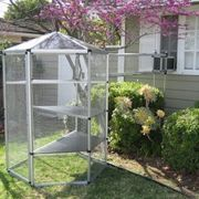 How to Buy an Outdoor Cat Enclosure Cheap   eHow