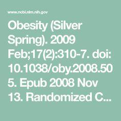 Obesity (Silver Spring). 2009 Feb;17(2):310-7. doi: 10.1038/oby.2008.505. Epub  2008 Nov 13. Randomized Controlled Trial; Research Support, Non-U.S. Gov't