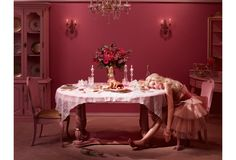 DINA GOLDSTEIN'S   in the dollhouse - Barbie and Ken Photoshoot