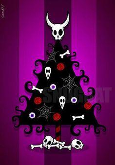 Dark Christmas Modern Christmas Xmas Christmas Cards Skull Wallpaper Christmas Wallpaper