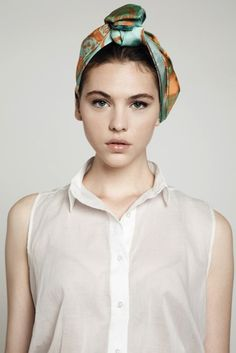 cute headscarf!