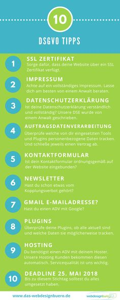 Tipps um Deine Webseite DSGVO bereit zu machen These adjustments you should do on your website to comply with the GDPR. Social Media Marketing Business, E-mail Marketing, Affiliate Marketing, Digital Marketing, Influencer Marketing, Business Tips, Online Business, Writing Advice, Wordpress Plugins
