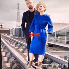 750de7724ca 2015 Lennon Courtney at Dunnes Stores  cobalt  dress  autumnwinter Cobalt  Dress